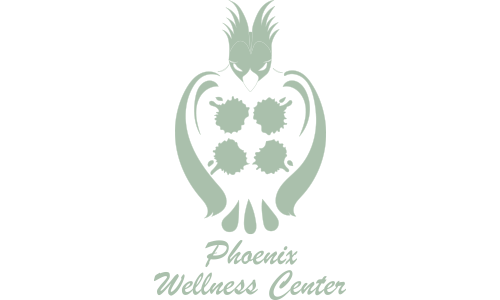 Phoenix Wellness Center logo. They are our Water Station sponsor for the 13th Annual Sounds of Silence Run/Walk. Click on link to visit them.