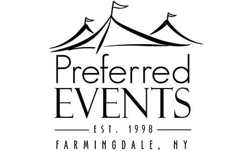 Preferred Events logo. They are a T-shirt logo sponsor for the 13th Annual Sounds of Silence Run/Walk. Please click on their link to visit them.