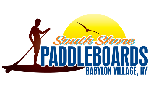 South Shore Paddle Boards logo. They are a Seahorse sponsor for the 13th Annual Sounds of Silence Run/Walk. Please click on their link to visit them.